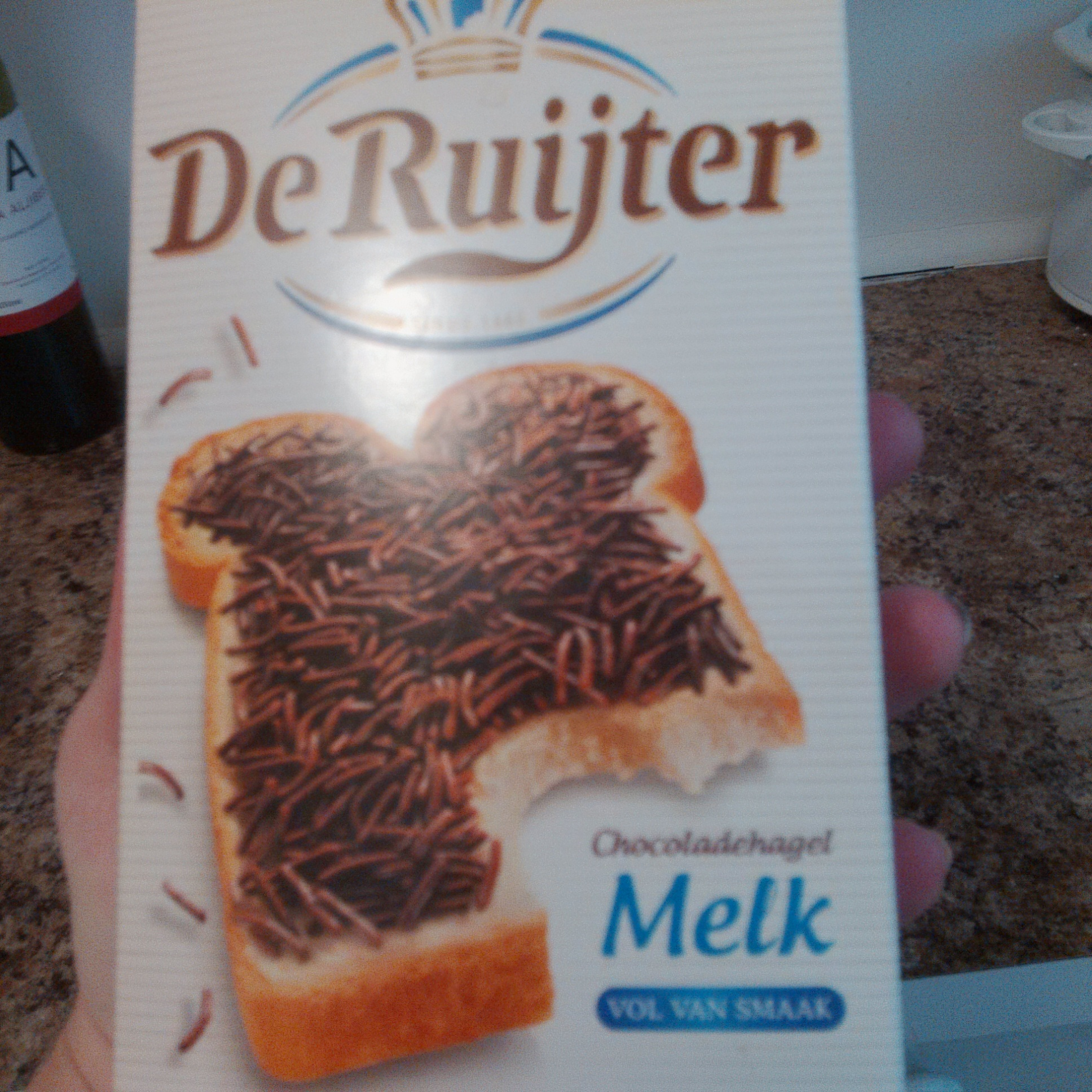 Chocolade Hagel