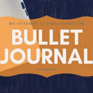 Bullet Journal how to