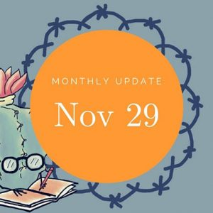Monthly Update NOV 29